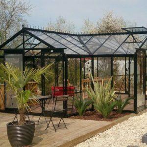 Kasvuhoone aiapaviljon Sophie