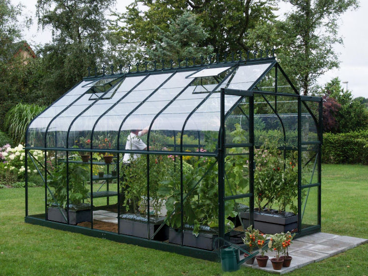 kasvuhooned erikujulised