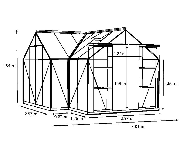 Kasvuhoone Sirius