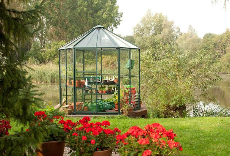 Kasvuhoone Vitavia Hera 4500 roheline