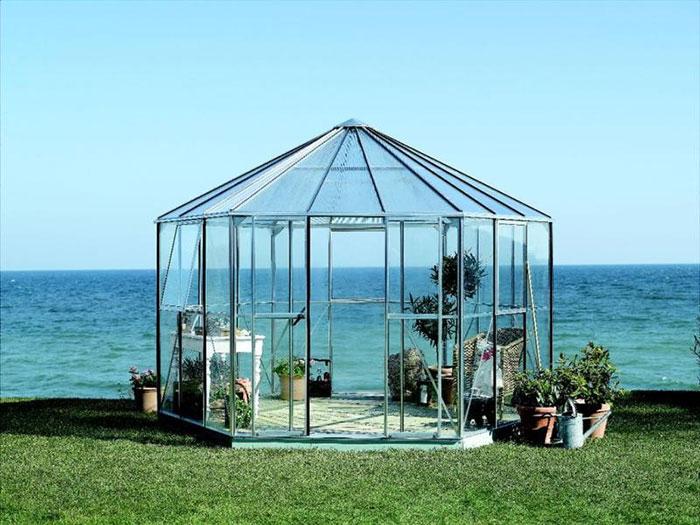 Klaasist paviljon Vitavia Hera 9000 hall