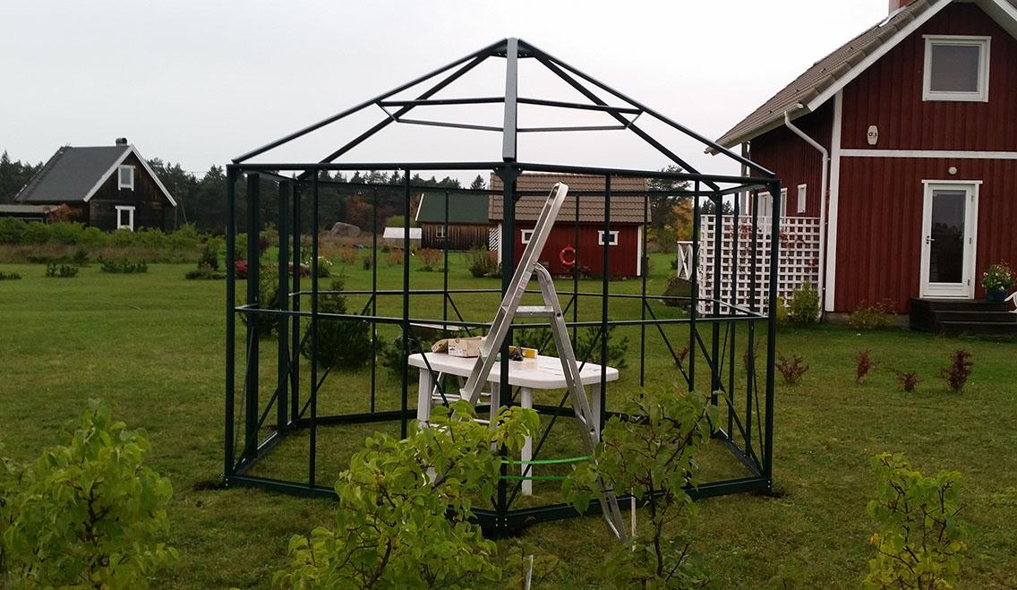 Kasvuhoone alusraam
