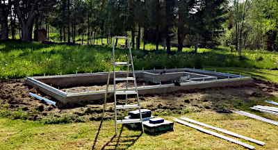 Kasvuhoone kinnitamine maha – vundament, aluspind või alusraam?