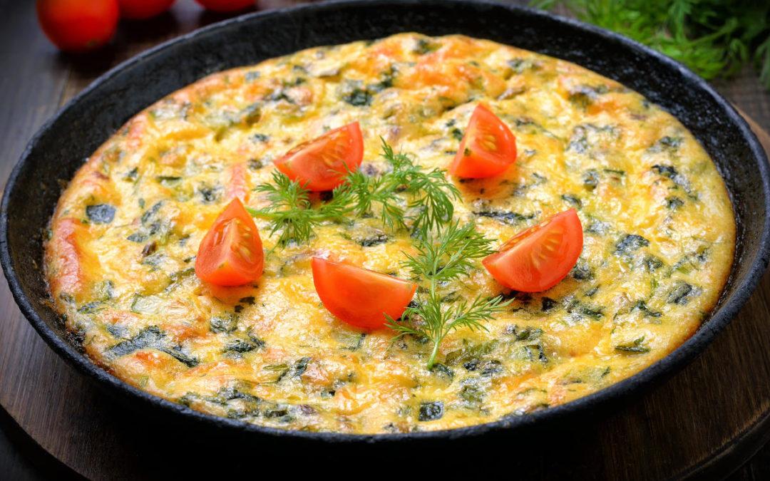 Suvikõrvitsa omlett: pehme, maitsev ja lihtne!