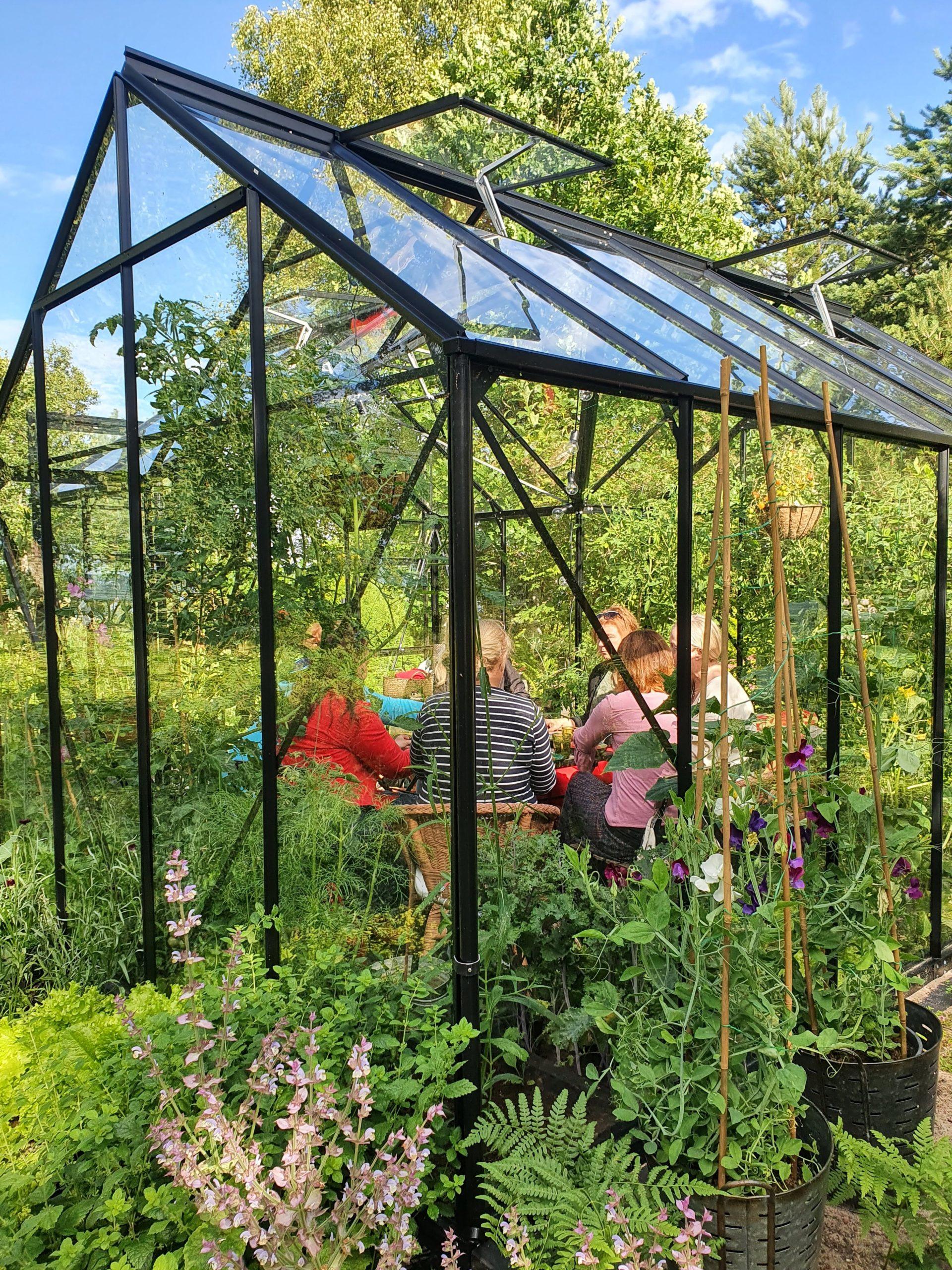 Kasvuhoone-aiapaviljon Vitavia Sirius