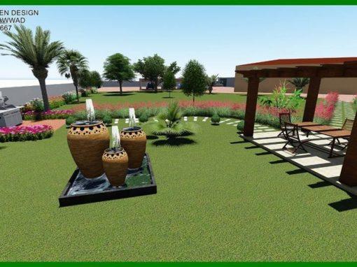 Kujunduslahendused kasvuhoone lähiümbrusele
